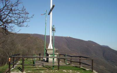 Croce degli Alpini sul monte Verdura